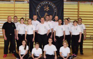 Wing Tsun Kung-Fu Dąbrowa Górnicza - trening 1