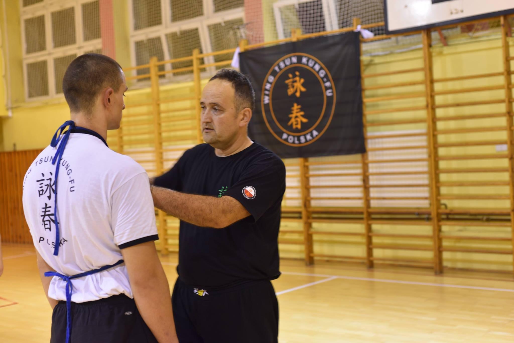 Wing Tsun Kung-Fu Dąbrowa Górnicza - trening 2