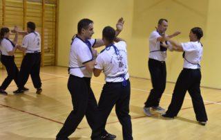 Wing Tsun Kung-Fu Dąbrowa Górnicza - trening 4