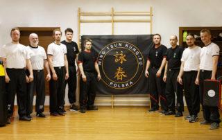 Wing Tsun Kung-Fu Warszawa-Ursus - trening 04.04.2018 - zdjęcie grupowe