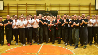 Wing Tsun Kung-Fu Katowice - ostatni trening w roku 2017 (17.12.2017)