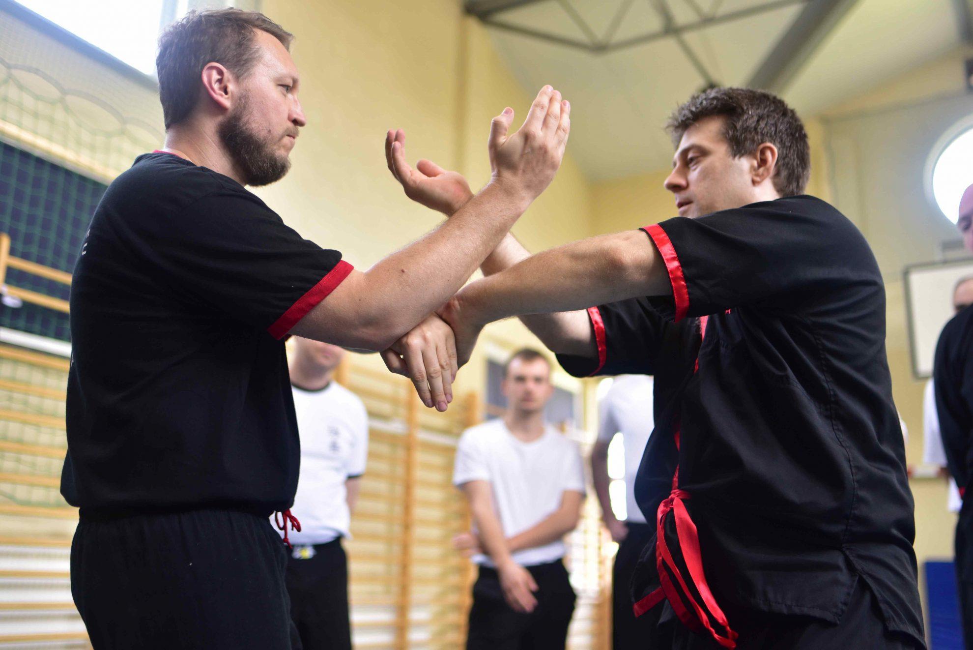 Wing Tsun Kung-Fu Kielce - seminarium drewnianego manekina 21.04.2018 - 1