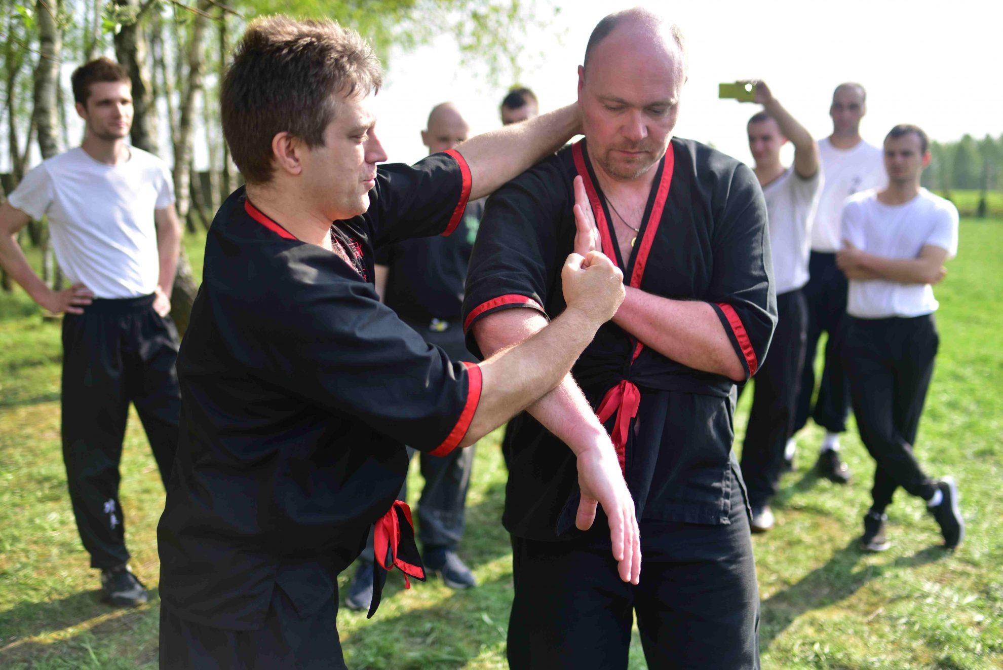 Wing Tsun Kung-Fu Kielce - seminarium drewnianego manekina 21.04.2018 - 2
