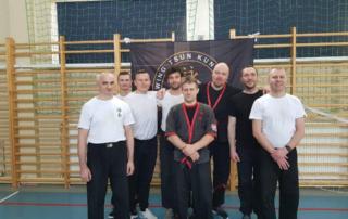 Wing Tsun Kung-Fu Kielce - trening inauguracyjny 10.03.2018